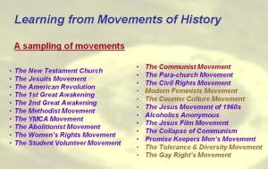 Movements List 2